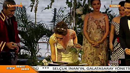Свадбата на Неслихан и Кадир- Най-подробни видеомоменти и снимки
