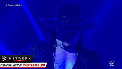The Undertaker says Final Farwell to the WWE Universe: Survivor Series 2020 (WWE Network Exclusive)