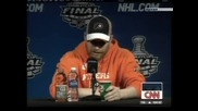 Филаделфия Флайърс с нов капитан преди страта на сезона в НХЛ