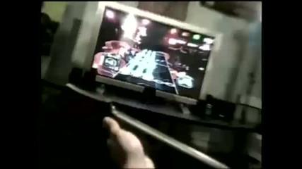 Най - зарибявка !! Guitar Hero - Световният Рекорд