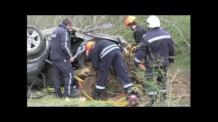 Семейство загина в тежка катастрофа край Русе