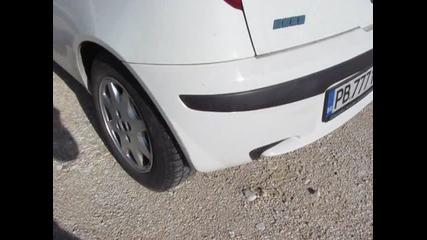 Fiat Punto 1.9 Jtd (еxhaust system sound)