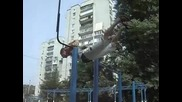 Украинец Прави Уличен Фитнес
