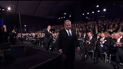 Israel: Netanyahu salutes US for confronting 'tyrants of Tehran' in Holocaust Forum speech