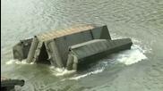 Ето как се правят мостове в Русия! Руската техника винаги ще си остане Номер 1