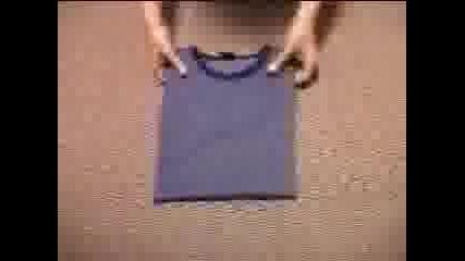 Как Се Сгъва Тениска ?