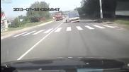 Камион остава без гуми в движение