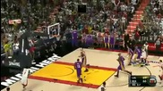 Nba 2k11 Gameplay Miami Heat vs. La Lakers (american Airlines Arena) Hd 1080p