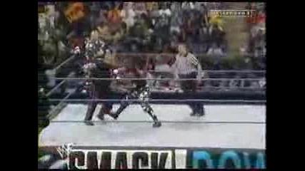 Smackdown 2000 - Raven Amp Tazz V The Dudley Boyz