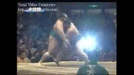 Настоящия Шампион По Сумо Асашорю