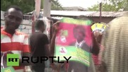 Haiti: Violent protests erupt over preliminary presidential results