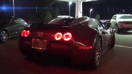 Bugatti срещу Nissan Gt-r (80-330 км) по улицата на града !