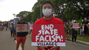 Philippines: Hundreds protest Duterte on 48th anniv. of Marcos martial law declaration