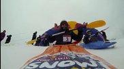 Каяк на сняг - Red Bull Snow Kayak 2013