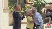 Само за снимка млада по дух и доста палава възрастна двойка - скрита камера