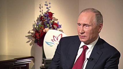 Russia: Putin talks Turkey relations; argues against regime change in Syria