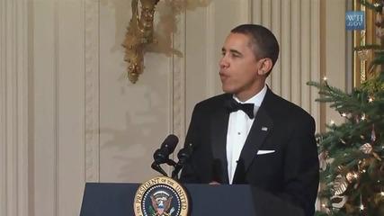 Барак Обама пее Call Me Maybe на Карли Рей Джепсен
