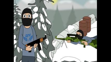 """""""23 години зима"""" (анимация)"""