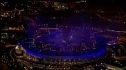 Церемония По Закриването На Олимпийските Игри Лондон 2012 - Загасяне На Олимпийския Огън - The Who
