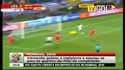 Германия 4 - 1 Англия 27 06 2010 - Fifa World Cup 2010