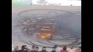 Nissan 200x Burnout