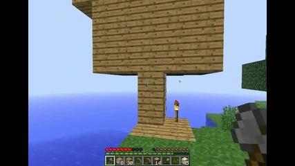 Майнкрафт Оцеляване с мен gameplay_gamer епизод 10 къща на дърво 4
