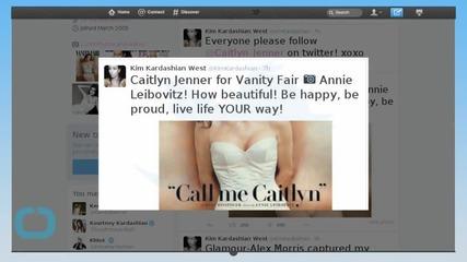 Kim Kardashian Supports Caitlyn Jenner