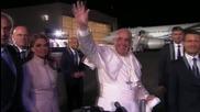 Първи ден от визитата на Папа Франциск в Мексико