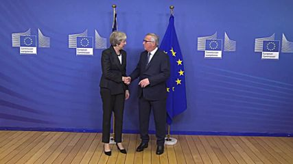Belgium: Juncker receives May in Brussels ahead of Brexit meeting