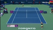 Simona Halep vs Angelique Kerber Toronto 2015 Set-1