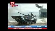 Русия и Китай със съвместни военни учения 26.08.2015 г.