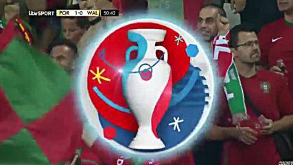 06.07.16 Португалия - Уелс 2:0 * Евро 2016 *