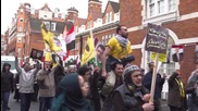 UK: London march commemorates Egyptian uprising five years on