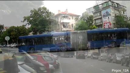 Градски транспорт Бургас - Временно движение на автобуси и тролеи по ул. Цар Симеон и ул. Гурко