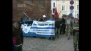 Neonazis in Wismar vs Antifa vs Polizei