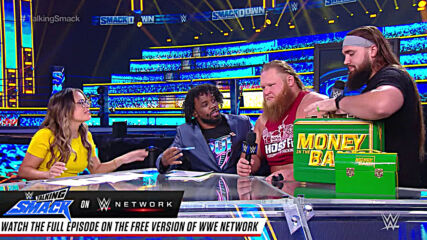 Otis shows off a real man's body on Talking Smack: WWE Talking Smack, Sept. 19, 2020