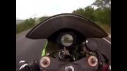 Пази моториста ?! Клипче от 2013г. на самоубиец (убиец)
