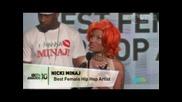 [ Bet Awards 2010 ] Best Female Hip Hop Artist - Nicki Minaj