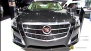 2014 Cadillac Cts Awd 2.0t Luxury Collection - Exterior,interior Walkaround-2014 New York Auto