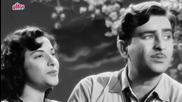 Aaja Sanam Madhur Chandani - Raj Kapoor, Nargis, Chori Chori( Тайно от всички ) Song
