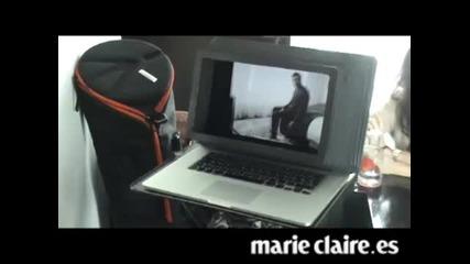 Making of Mario Casas para Marieclaire.es