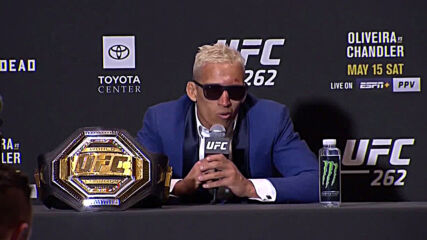 USA: 'I come to shock the world' - Charles Oliveira claims UFC lightweight title