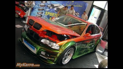 Bmw e46 tuning cars