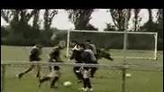 Ето какво трябва де се тренира на една футболн тренировка - симулация - смяхх