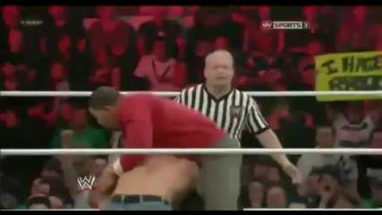 John Cena vs Lord Tensai