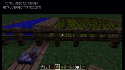 Red Stone уроци ep2, автоматична ферма.