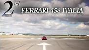 2011 Ferrari 458 Italia vs. Mclaren Mp4-12c, Porsche 911 gt2 rs