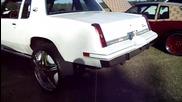 Cutlass on 26 Dub Cream Floaters, 05 Impala on 24 Dub Sploaters [hometeam]