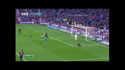 15.2.2015 Барселона-леванте 5-0 Ла Лига