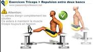 фитнес упражнение - Трицепс силови упражнения